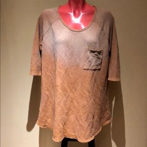 Free people tunic sweater shirt top blouse